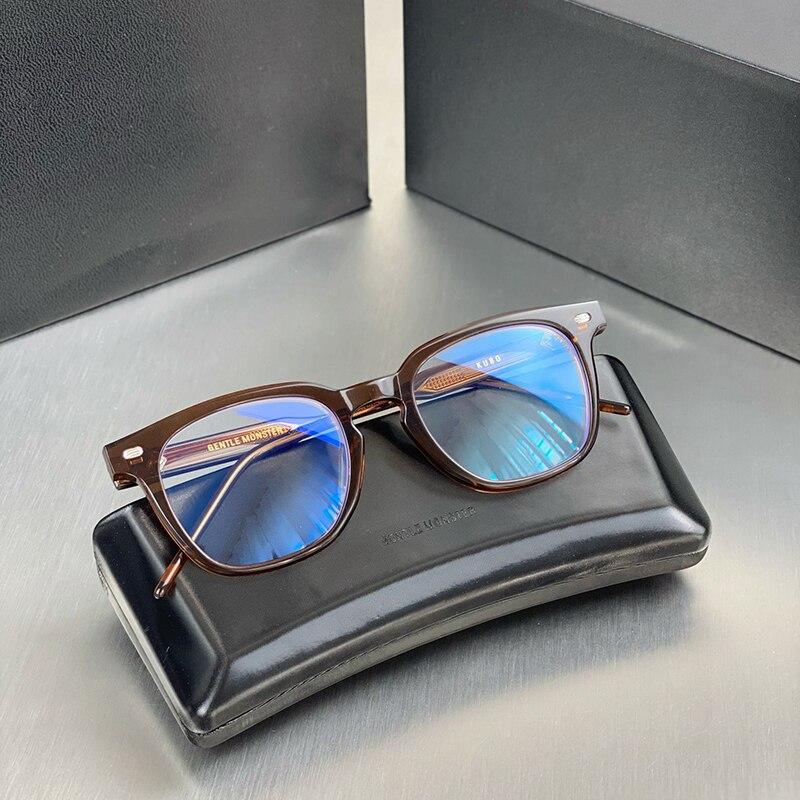 لطيف ماركة كوبو خلات خمر مربع النظارات الرجال النساء الرجعية العين نظارات إطار قصر النظر البصرية وصفة النظارات Oculos