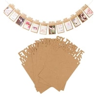 baby photo banner birthday photo bunting garland for 0 12 months