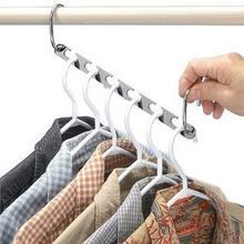 Magic Hangers For Clothes Hanging Necklace Metal Cloth Clothes Hangers Organizer Hangers Clothes Rack Closet Storage Hanger