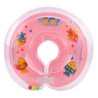 newborn baby neck float ring swimming bathing inflatable safety neck ring tube float circle for baby kids summer pool 2021 new