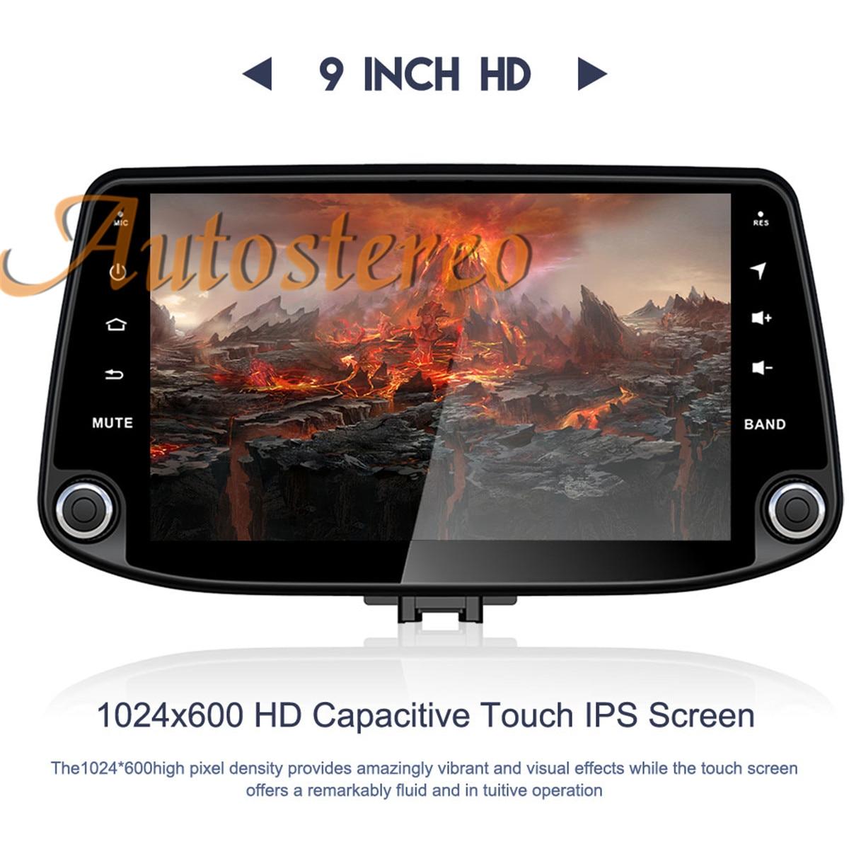 Auto Stereo Android 10.0 4+64 GPS Navigation For Hyundai I30 2017 2018 2019 Auto Radio Head Unit Multimedia Player Tape Recorder