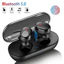Y30 Bluetooth Earphones Wireless Headphones Touch Control Sports Earbuds Microphone Works On All Sma