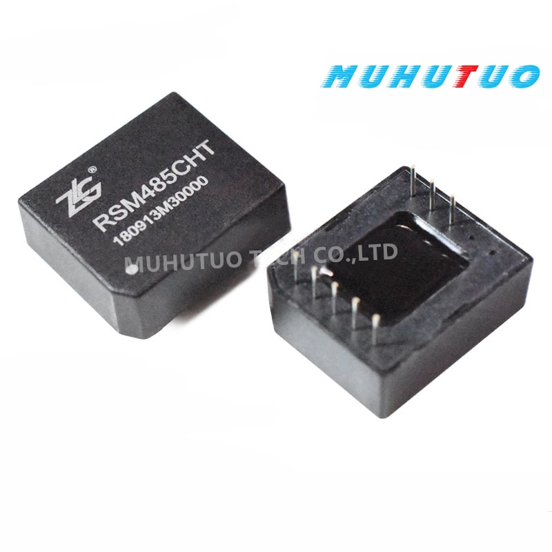 2PCS RSM485CHT 5V single-channel high-speed RS485 isolated transceiver module