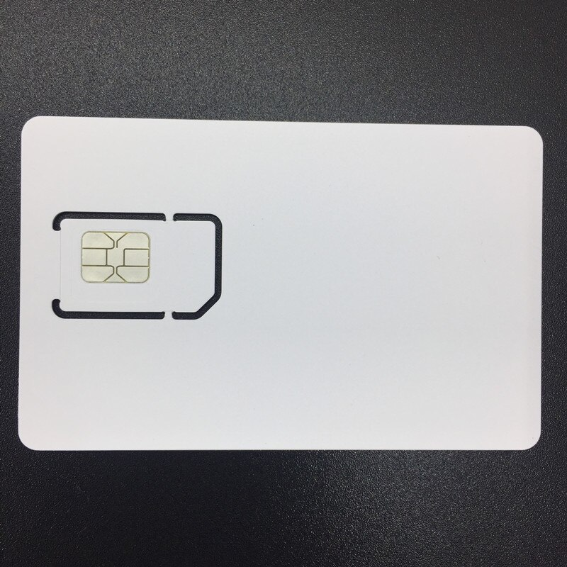 OYEITIMES SIM USIM Card 4G LTE WCDMA GSM Blank Mini Nano Micro Writable Programable SIM Card for Operator Milenage Algorithm enlarge