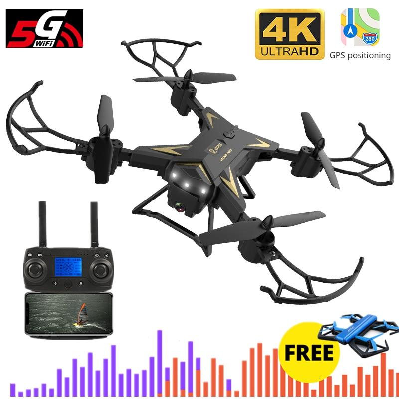 KY601G GPS Drone 4K Quadcopter con cámara 5G WIFI FPV Selfie Dron 2000 metros de distancia de Control giroscopio del F11 B4W SG906