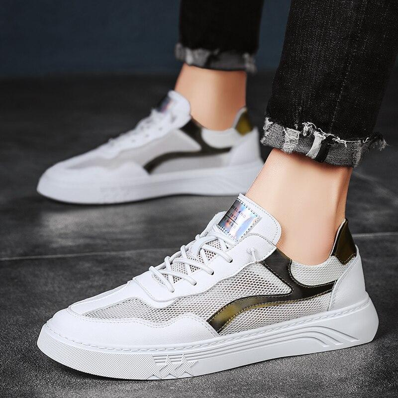 الذكور حذاء كاجوال أحذية رجالي شبكة عادية الانزلاق على أحذية رياضية عالية الجودة الرجال الربيع/الصيف