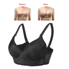 Electric Breast Enlargement Messager Chest Growth Bra Vibration Stimulator Enhancer Breast Massage B