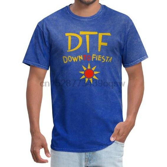 Camiseta para hombre DTF Down to Fiesta camiseta Brooklyn Nine-Nine B99-Camiseta para Hombre Camisetas Camiseta estampada