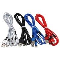 USB-кабель 3 в 1, позолоченный зарядный кабель для IPhone Xs, Xr, X, 8, 7, 6, 6S Plus, IOS 10, 9, 8, Micro USB C, кабель для телефонов Android, 50 шт.