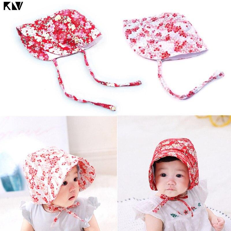 Klv chapéu do bebê recém-nascido floral do vintage fotografia gorro de algodão meninos meninas adereços boné crianças gorro chapéu do bebê