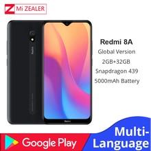 Original Global Version Xiaomi Redmi 8A 2GB RAM 32GB ROM Snapdragon 439 12MP Camera 5000mAh Battery Smartphone Octa cellhphone