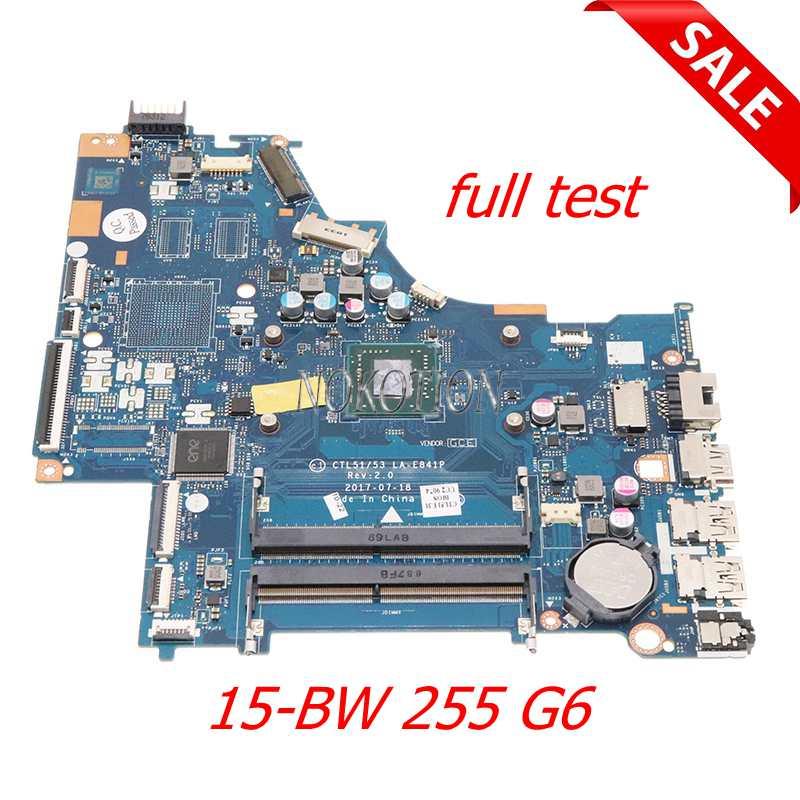NOKOTION 926268-601 924720-601 924720-001 CTL51 53 LA-E841P ل HP 15-BW 255 G6 اللوحة المحمول DDR4