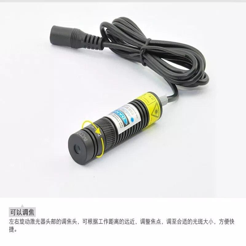 Регулируемый 405 нм 300 мВт лазер диод модуль +высокая мощность свет NO адаптер 16x68 мм