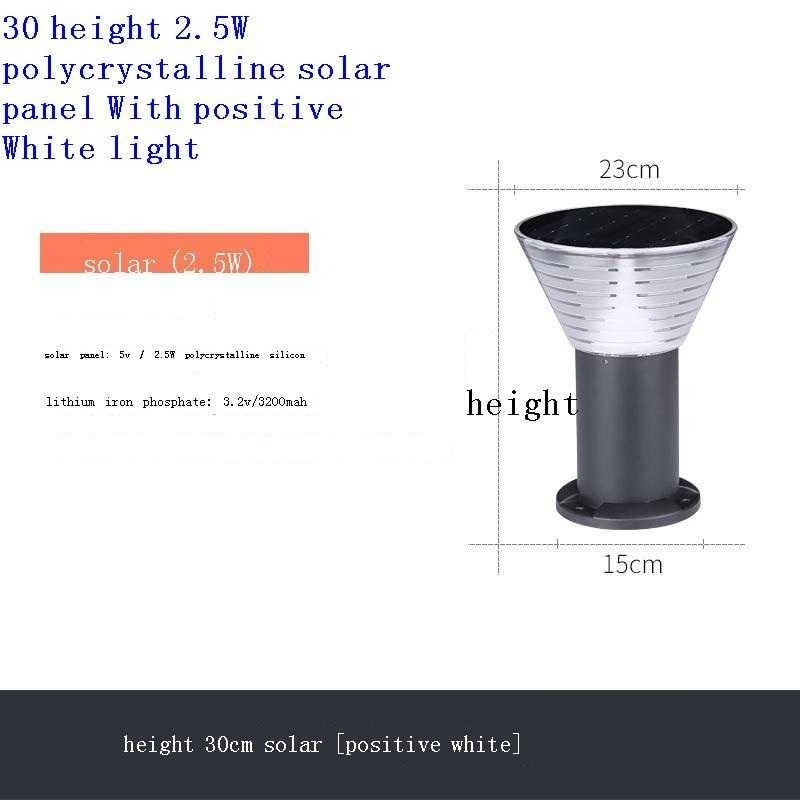Bahce Aydinlatma Para Tuinlamp Lamp Gartenbeleuchtung Luce Tuinverlichting Decoracion Jardin Exterior LED Garden Light enlarge