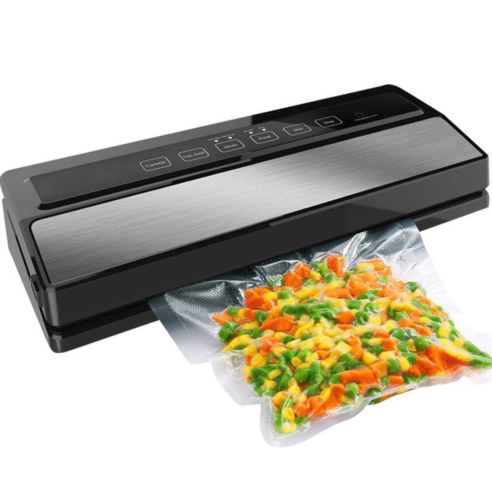 Бытовая автоматическая упаковочная машина для вакуумной упаковки продуктов питания Еда вакуумное машинное оборудование стенд/стол E2900-MS