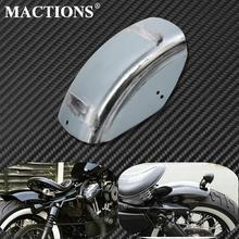 Garde-boue arrière plate Harley Sportster   Bricolage, garde-boue courte, plate et non peinte, Cafe Racer pour Harley Sportster Iron XL 48 72 883 1200 1986-2019