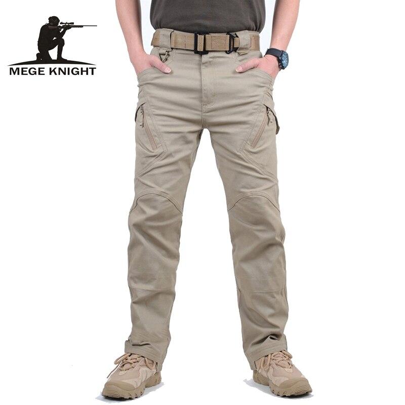 Mege-بنطلون شحن تكتيكي ، قطن ، ملابس قتالية للجيش الأمريكي ، ملابس عمل للرجال ، ركض ، سراويل غير رسمية ، ملابس الشارع ، معدات Airsoft