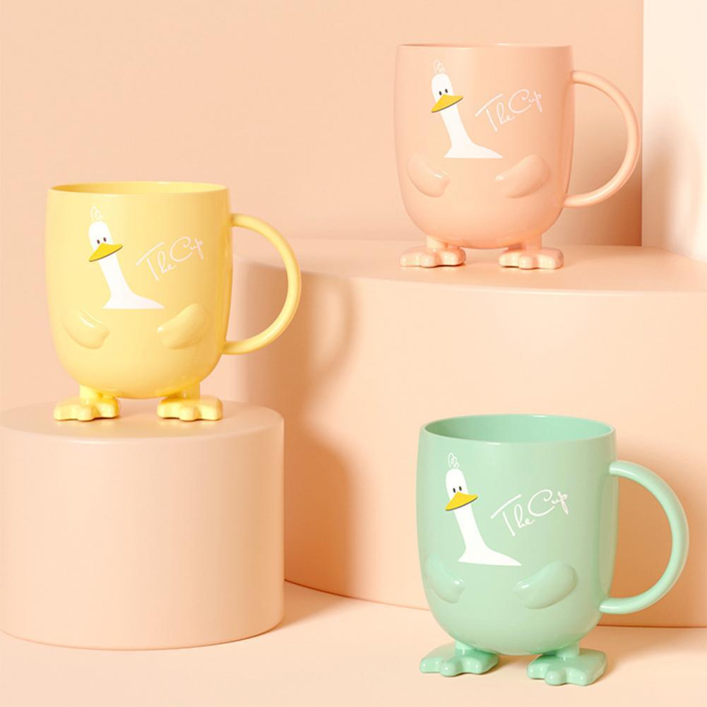 Чашка для зубной щетки, мультяшная форма, ударопрочные Портативные Детские чашки для кормления, Детские тренировочные кружки для воды, това...