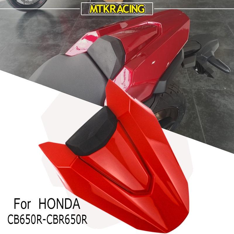 MTK سباق الدراجات النارية المطاط وسادة غطاء مقعد خلفي اكسسوارات لهوندا CBR650R CBR650R 2019-2020