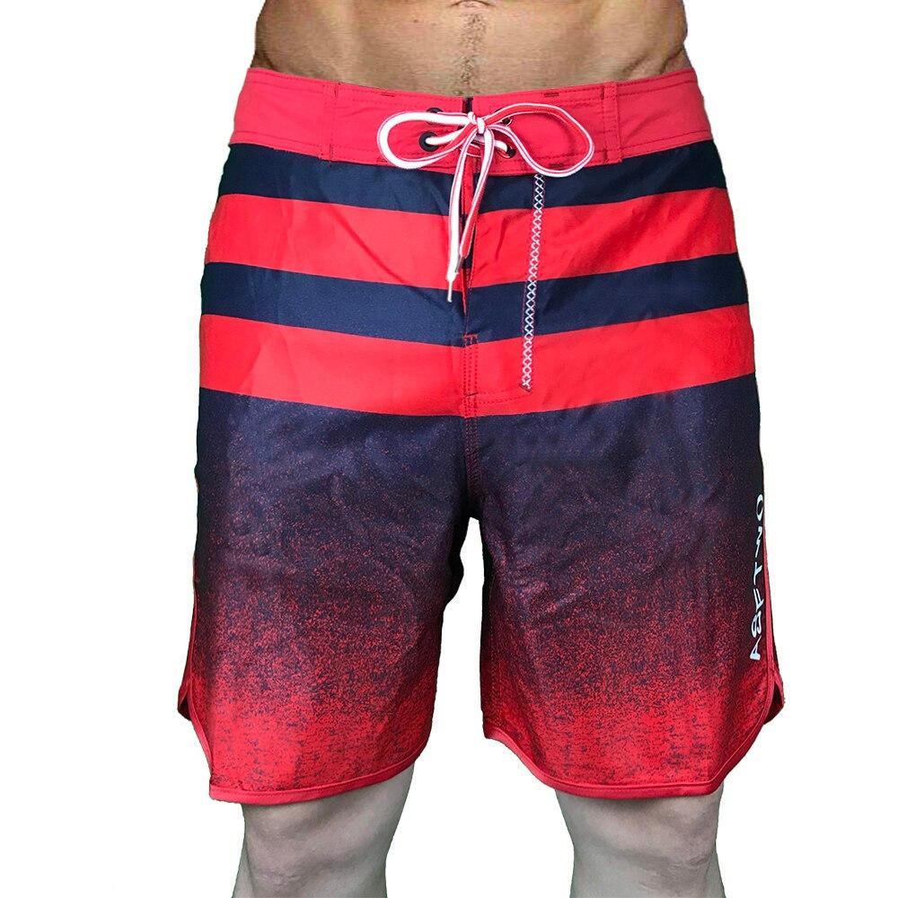 Быстросохнущие мужские пляжные брюки, мешковатые пляжные шорты, пляжные шорты для отпуска, боксеры, шорты, плавки для плавания, водонепрони...
