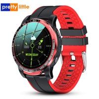 Смарт-часы LW20 мужские с поддержкой Bluetooth, 24 часа, фитнес-трекер для измерения сердечного ритма
