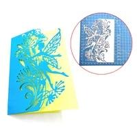 3d fairy cutting dies stencils scrapbooking embossing diy crafts paper card