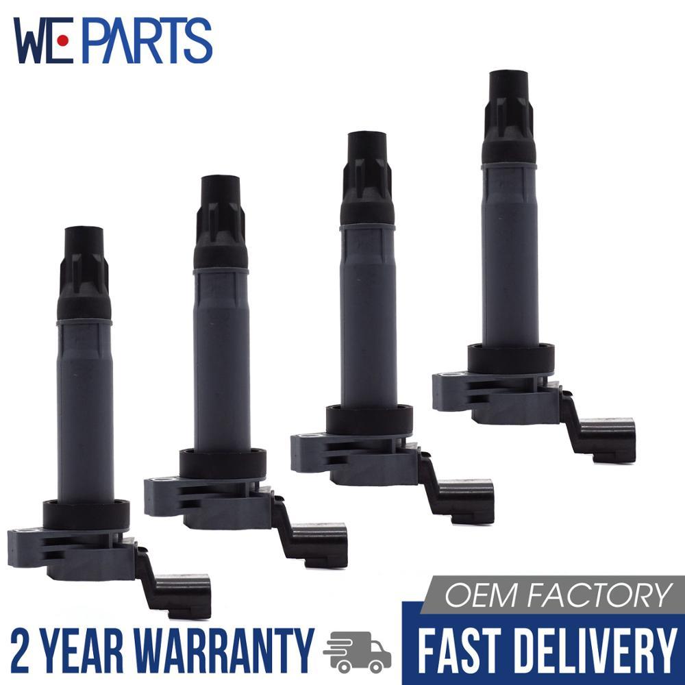 Conjunto de 4 bobina de encendido para Holden Barina Chevrolet Spark 1.2L L4 C1846 25190788 96983945 5C1903 9023781 FK0374 UF725 96875090