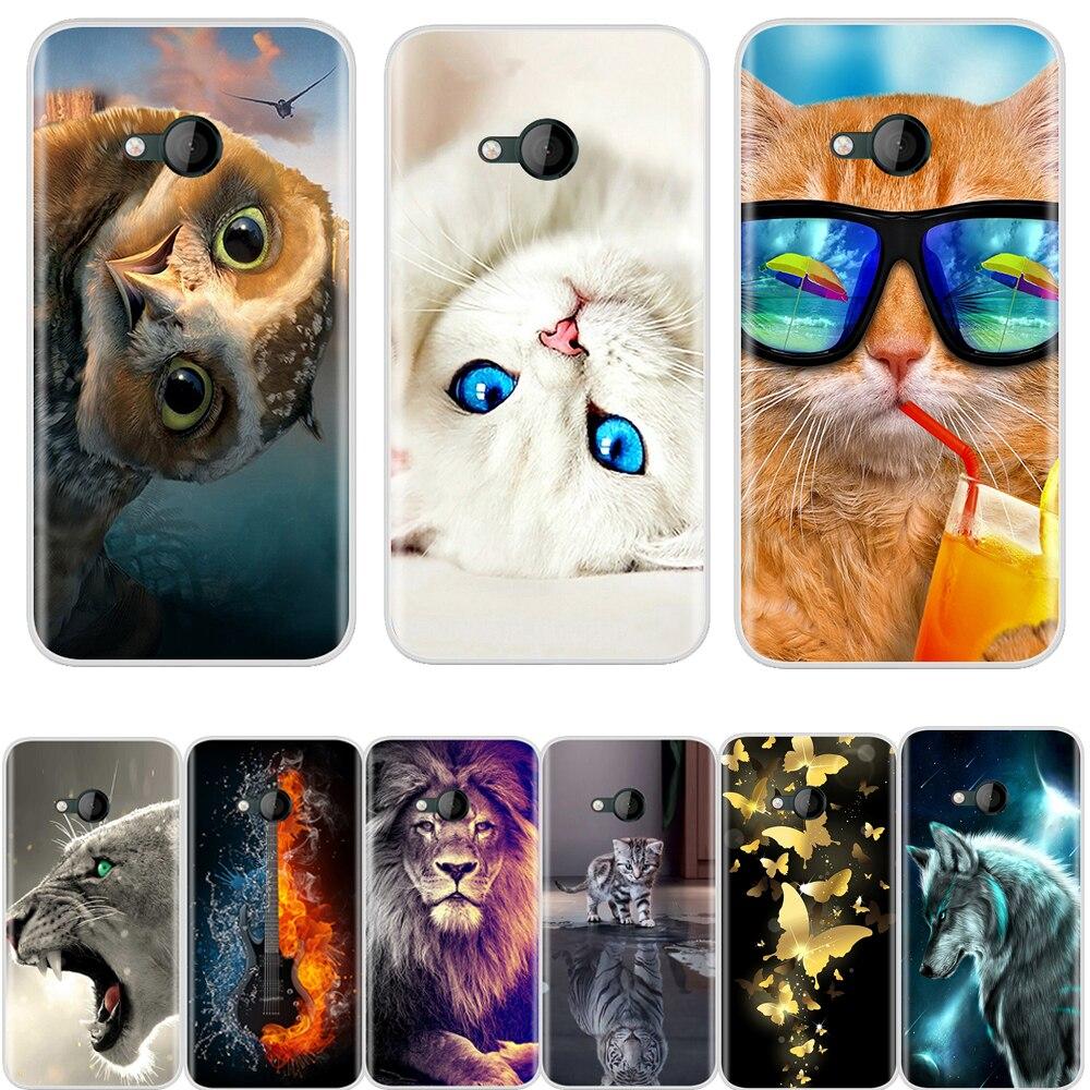 Para HTC U Play funda de silicona suave TPU patrón de moda fundas de teléfono de protección para HTC U Play Back Cover