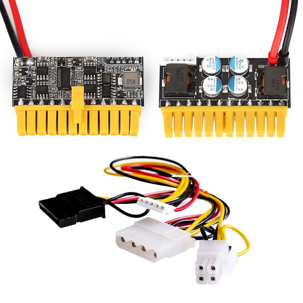 عالية مضمنة الطاقة وحدة 24Pin البسيطة PicoPSU DC-ATX مجلس الدائرة امدادات الطاقة ملحقات الكمبيوتر المعدات والالكترونيات
