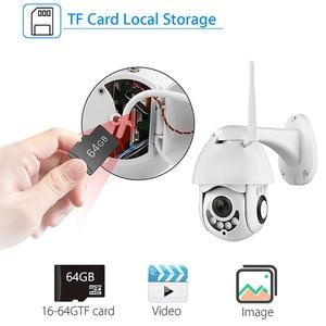 1080P Wifi Camera H.265X Waterproof Speed Dome Outdoor Wireless Camera Two Way Audio Home CCTV Surveillance Camera
