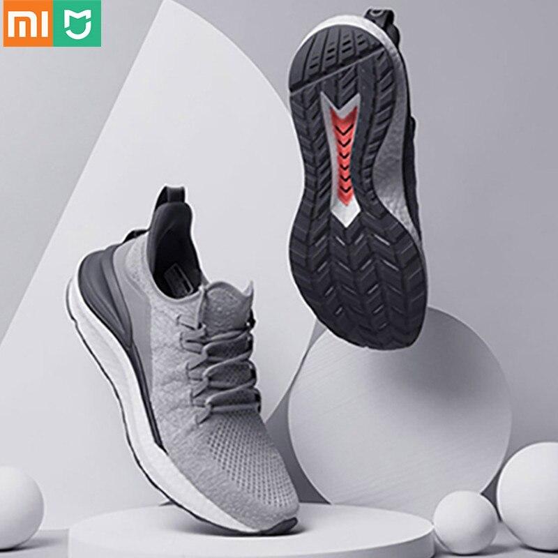 Sapatos de Corrida Atualização de Sola de Borracha Roupa de Máquina Xiaomi Tênis Esportivos Mijia Geração Masculinos Versão Gratuita Intermediária Lavável 2021 3a