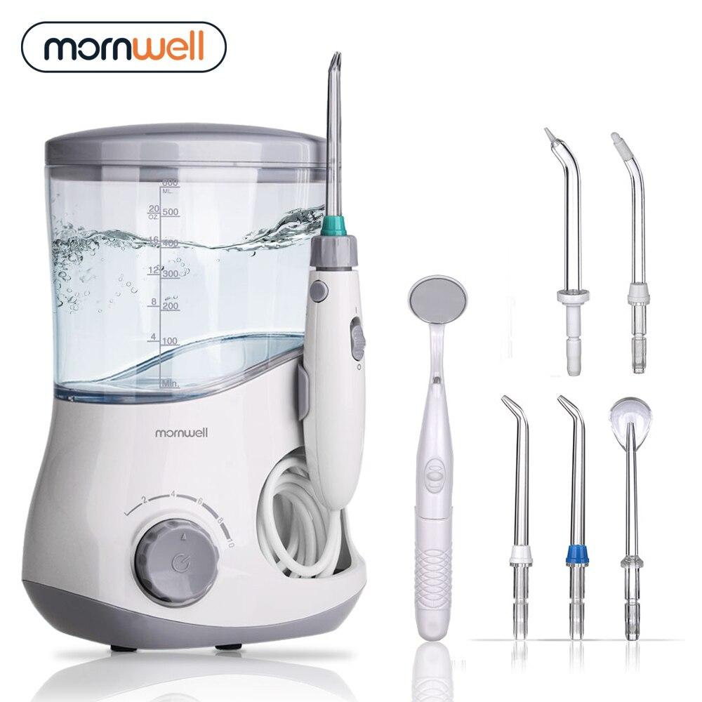 Mornwell Oral Irrigator Dental Water Flosser irrigator flosser Water Jet irrigator dental Family Ora