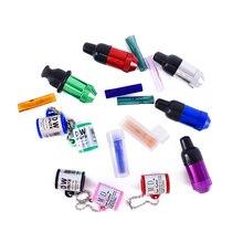 Цветная сигаретная бумага заказной логотип стеклянная прямая фильтр советы Складная курительная трубка маленький держатель для сигарет