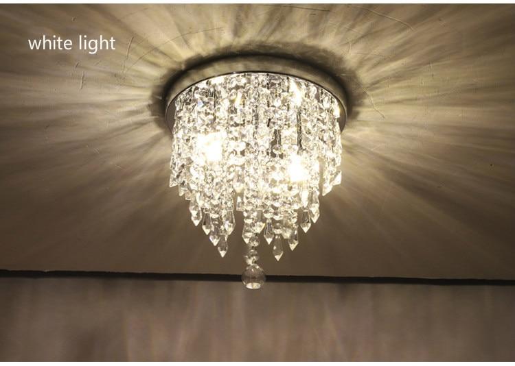 luminaria de teto de cristal k9 lampada criativa de cristal para quarto decoracao para interiores