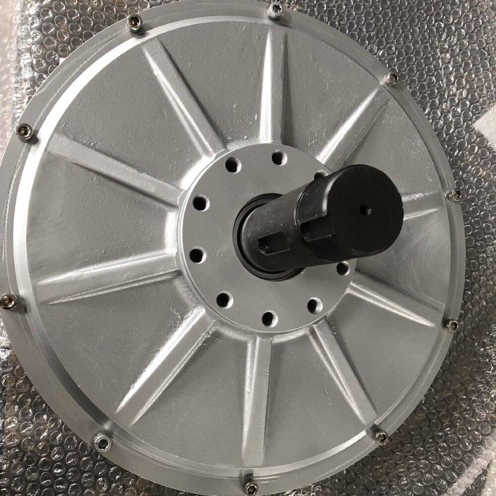 CE 10KW 1000RPM 220V AC disco PMG Rotor interno trifásico sin núcleo alternador de imán permanente