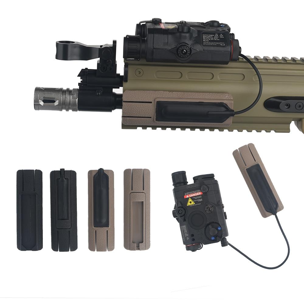 AliExpress - WADSN Tactical Airsoft 4.125″ ITI TD Scar Pocket Panel Flashlight PEQ15 DBAL A2 Remote Switch Quick Mount Fit Picatnny Rail