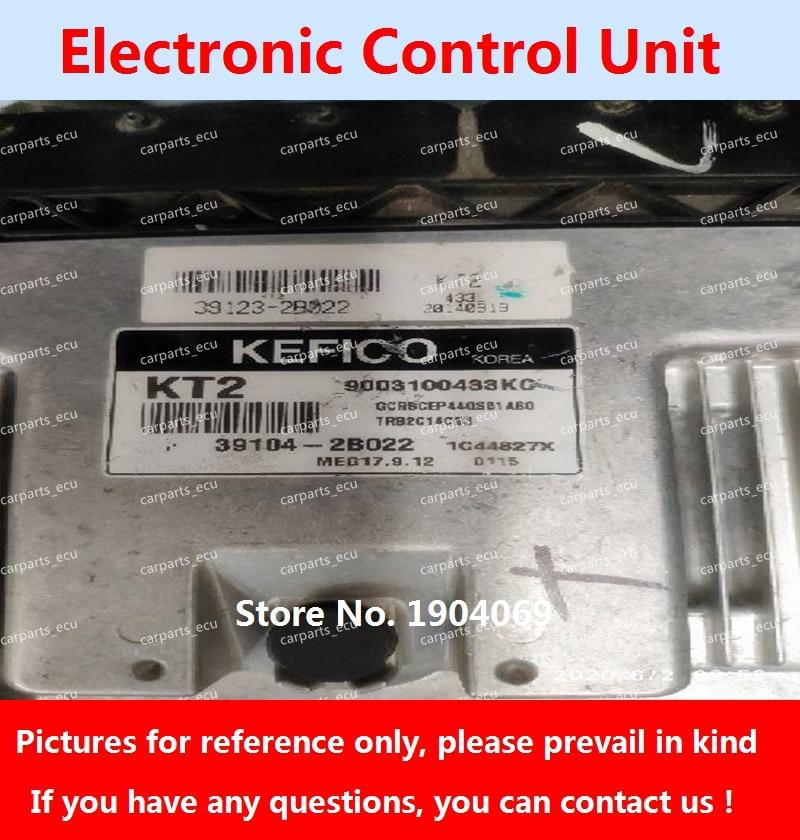لشركة هيونداي-AT إلنترا لانداو رينر توكسون كيا MEG17.9.12 محرك السيارة مجلس الكمبيوتر/وحدة تحكم ECU/وحدة تحكم إلكترونية/39104-2B022