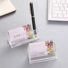 Portable clair porte-carte daffaires présentoir bureau comptoir bureau porte-carte daffaires bureau étagère boîte