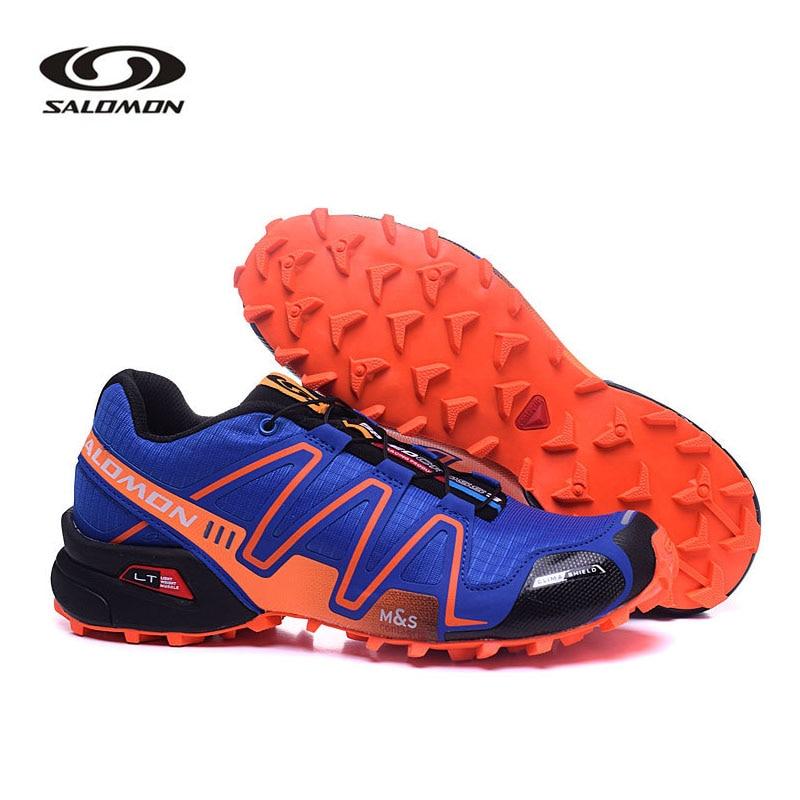 Zapatillas de correr Salomon Speed Cross 3 originales para hombre, zapatillas deportivas Salomon Speedcross 3 CS III, zapatos para hombre