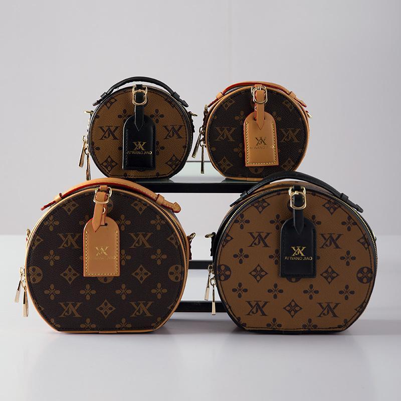 Sacos para as mulheres 2020 nova presbiopia moda pequena redonda saco de viagem portátil