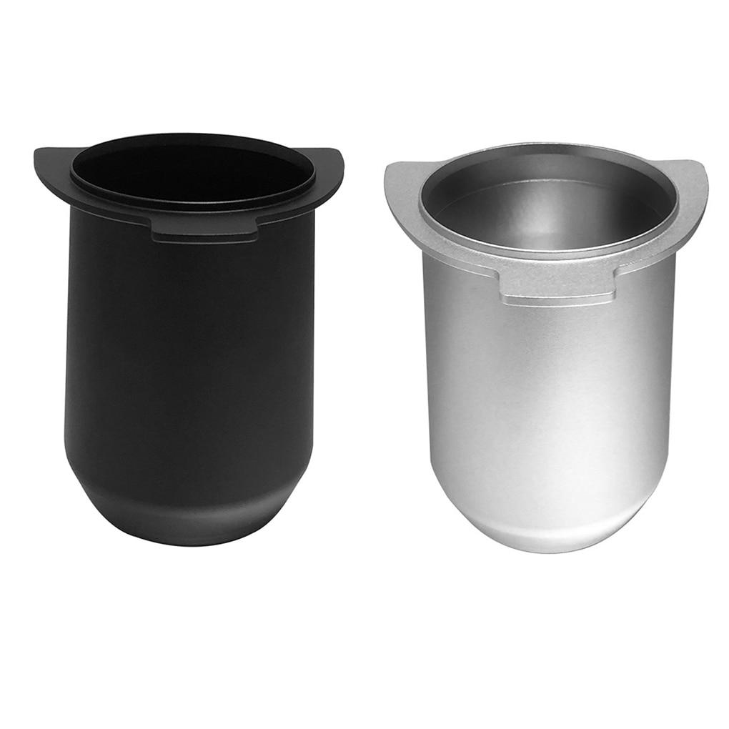 الفولاذ المقاوم للصدأ القهوة الجرعات كوب 54 مللي متر Portafilter ل Breville 870/878/880 مسحوق كأس المغذية استبدال دعم دروبشيبينغ