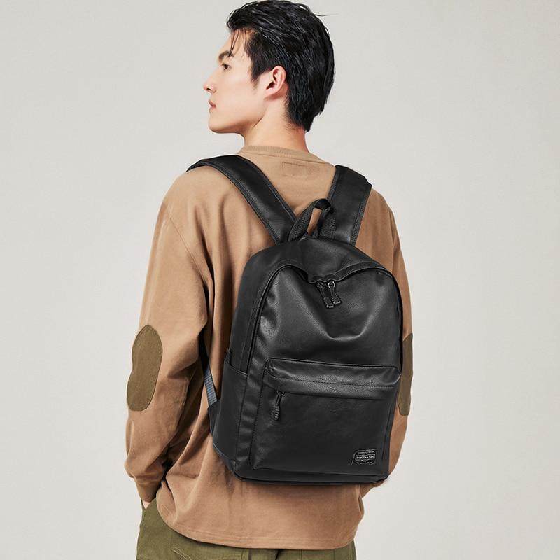 Модный рюкзак BOSTANTEN, школьный рюкзак, кожаный рюкзак для ноутбука (B6212001KA)