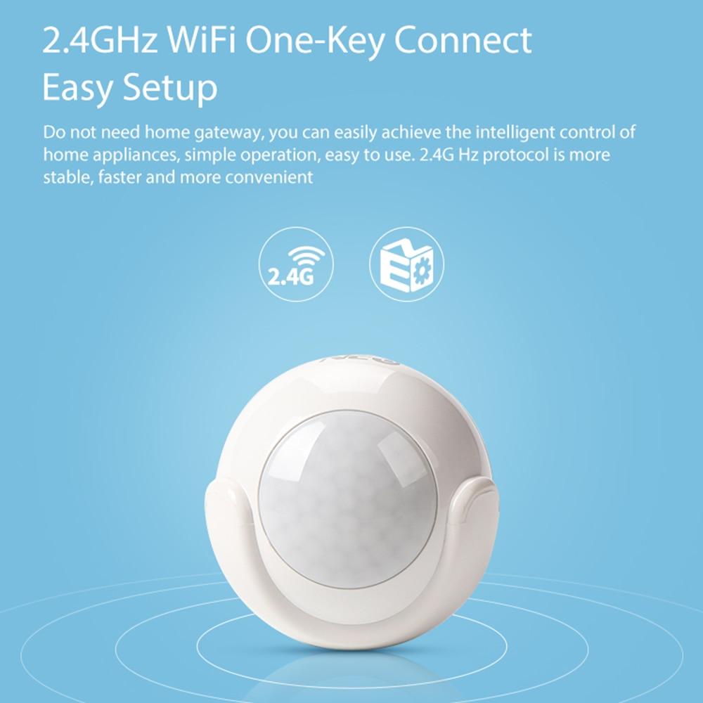 NEO Coolcam الذكية واي فاي PIR محس حركة الكاشف بنيت في البطارية لأتمتة المنزل الذكي العمل مع IFTTT