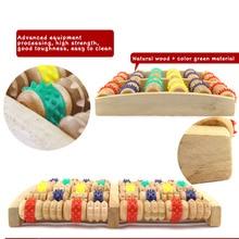 Brand New Wheel Wood Roller Foot Massager Relax Multicolour Pressure Roller Foot Massage Instrument SDFA88