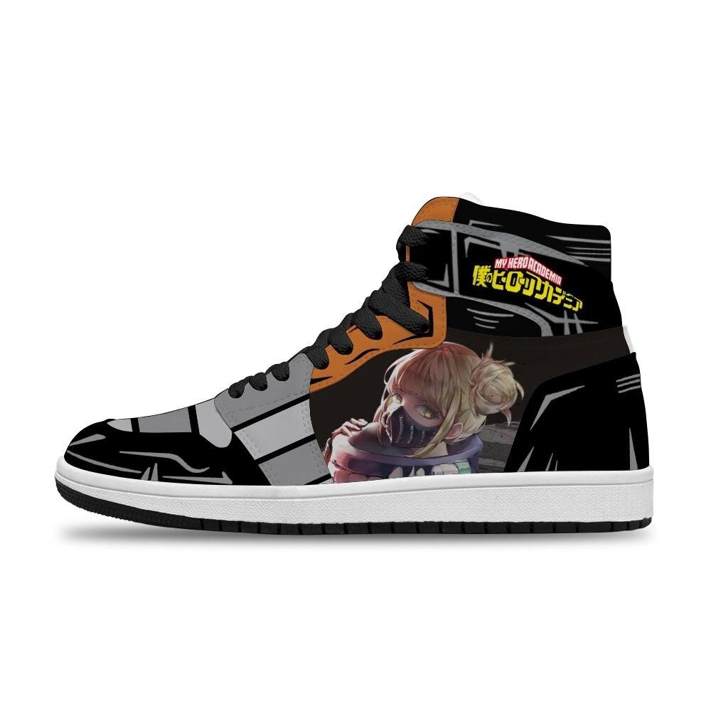 الكرتون أنيمي بطلي الأكاديمية الساخن اليابانية Diy بها بنفسك وسيم الرياضة عدم الانزلاق حذاء كاجوال للرجال للجنسين الاتجاه أحذية رياضية