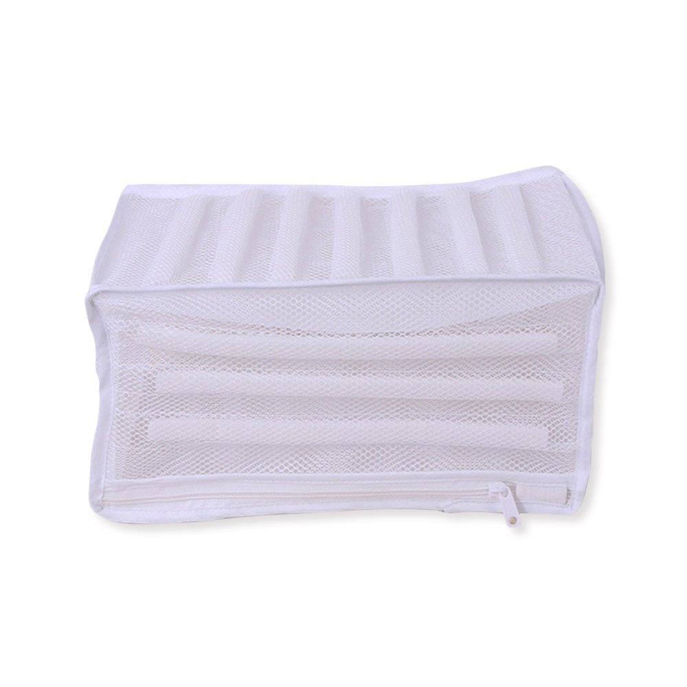 Купить с кэшбэком Wash Bag Padded Net Laundry Shoes Protector Polyester Washing Shoes Machine Friendly Laundry Bag Drying Bag