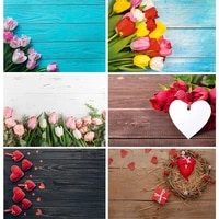 vinyl custom photography backdrops prop christmas flower wooden planks theme photography background 200901mb 05