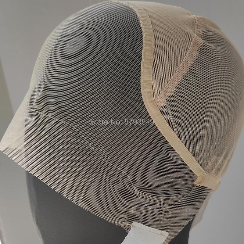 13x4 Frontal-Lace-Wig-Caps Transparent-Closure-Lace-Wig-Caps Wig Net Cap For Making Frontal Wigs