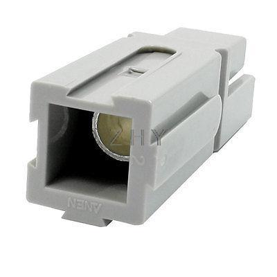 Carcasa de plástico Gris conector de batería Chapado en aluminio 600V 120A