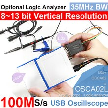 LOTO USB/PC Oszilloskop OSCA02, 100MS/s Abtastrate, 35MHz Bandbreite, für automobil, bastler, student, ingenieure